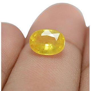 Barmunda gems 9.25 ratti Yellow Sapphire Ceylon Quality Pukhraj Gemstone