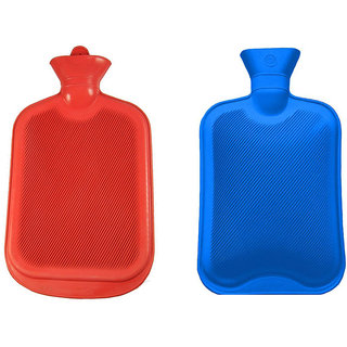 Combo of 2 pcs.Non-electric 1.5 L Hot Water Bag  (Multicolor)