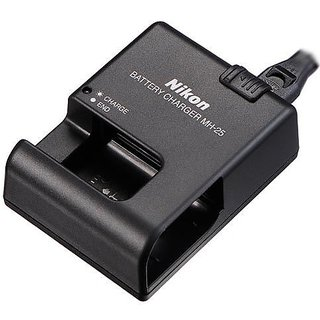MH-25 Battery Charger for Nikon Coolpix Digital Camera EN-EL15 MH25 + Warranty