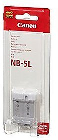 Canon NB 5L Rechargeable Li Ion Battery NB5L WARRANTY