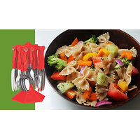 Class Cutlery Set With Stand - 24 Pcs - 5961548