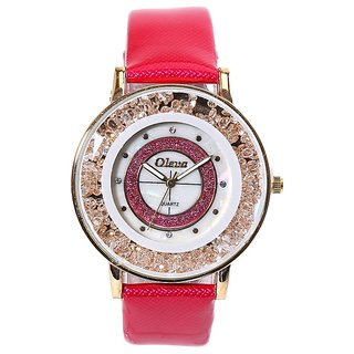 Oleva Premium Women's Leather Watch OPLW-32