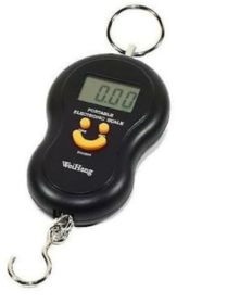 50kg Digital Smiley WHA-04 Led Weighing Scale electronic portable kitchen luggage TRAVEL weighing scale