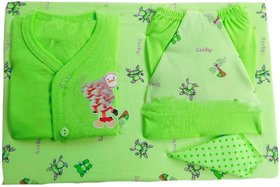 Oh Baby  Oh Baby, Baby Upside Down Baby Clothes Newly Born Coloer  Green  For Your Kids Se-Bc-15