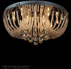 Modern Fixture Ceiling Light Lighting Crystal Pendant Chandelier beaded