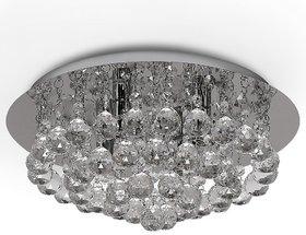 Modern Fixture Ceiling Light Lighting Crystal Pendant Chandelier Round