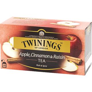 Twinings Of London Apple, Cinnamon  Raisin Tea, 25 Bags (50 grams)