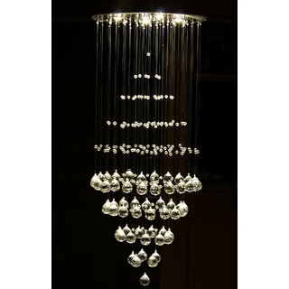 Modern Fixture Ceiling Light Lighting Crystal Pendant Chandelier DOM