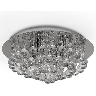 Modern Fixture Ceiling Light Lighting Crystal Pendant Chandelier Round