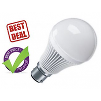 COMBO OF 3 PCS LED BULB - 7 W -1 PC+ 5W - 2 PC PURE & SAFE WHITE LIGHT FUTURISTIC POWER SAVING LED BULB - 5962158