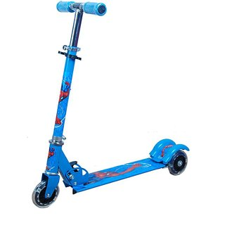 Portable 3 Wheels Kids Scooter ( Blue )