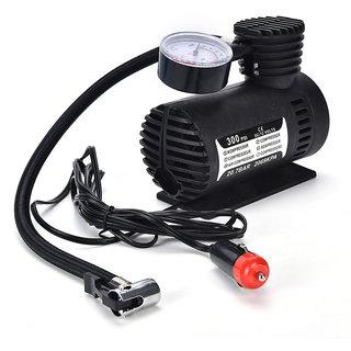 Car Auto Electric Pump Air Compressor Tire Inflator Tool 12V 300 PSI