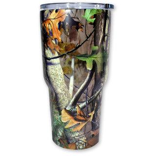 Stainless Steel Fashion Printed Thermos Coffee Mug Beer Tumbler Water Bottle