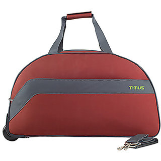 d25f4e3a8e Timus Bolt 65 Cm Rust 2 Wheel Duffle For Travel (Check-In Luggage)