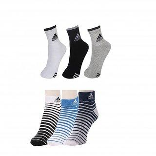 Adidas Ankle Socks 6 Pairs
