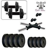 SPORTO FITNESS 8KG-COMBO16 Home Gym  Fitness Kit
