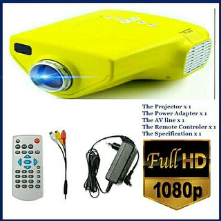 E03 Home Cinema Theater Multimedia LED LCD Projector HDMI TV 3D Video