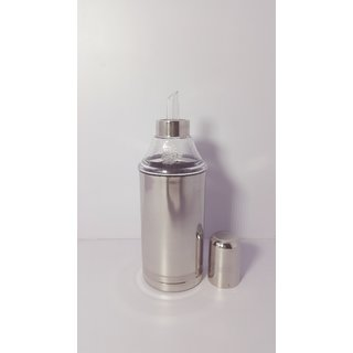 Moolnyasa Oil dispenser/Oil pourer stainless steel 1000 ml