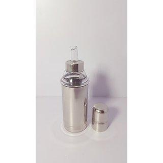 Moolnyasa Oil dispenser/Oil pourer stainless steel 350ML