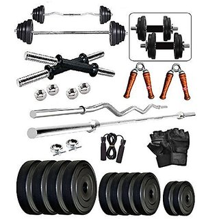 SPORTO FITNESS 30Kg Combo2-WB Home Gym  Fitness Kit