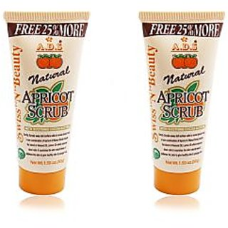ADS NATURAL APRICOT SCRUB Pack Of 2 212g