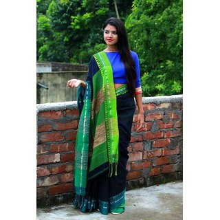 bbff33e5cd Buy HANDLOOM KHADI COTTON SAREES..... Online @ ₹1690 from ShopClues