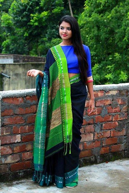 190b424a26 Buy HANDLOOM KHADI COTTON SAREES..... Online @ ₹1690 from ShopClues