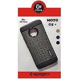MOTO G5+ / G5 PLUS SOFT SPIGEN TPU BACK TPU COVER CASE BLACK