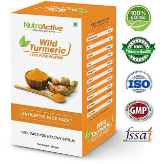 NutroActive Wild Turmeric Powder Face Pack 100 gm