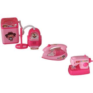 Toys Factory Kids Fun Home Mixer Set Mini Appliances