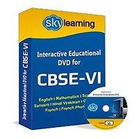 CBSE Class 6 CD/DVD Combo Pack English, Maths, Science, Hindi Vyakaran, Computer