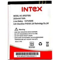 Intex Aqua Q7 Li Ion Polymer Replacement Battery BR2075BU