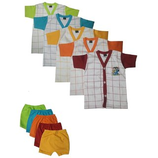 GMR Kids/baby Top and bottom set 6-10 months - Combo pack of 5
