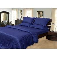 Mark Home Navy Blue Color Duvet Cover