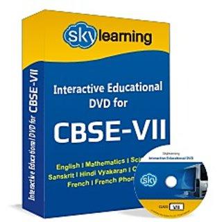 CBSE Class 7 CD/DVD Combo Pack English, Maths, Science, Hindi Vyakaran, Computer