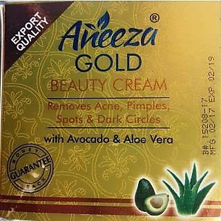 Aneeza Gold Beauty Cream.