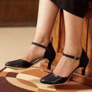 Funku Fashion Women's Black Heels