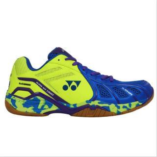 Yonex Super ACE Light Badminton Shoes Blue and Lime