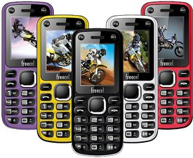 Freecel Free Cross Dual Sim/Camera/FM Multimedia  Mobile Phone (6 MONTHS SELLER WARRANTY)