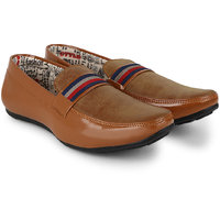 Poise Dark Brown Casual Shoes For Men(Loafers)