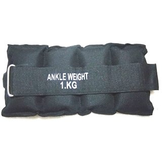 ANKLE WEIGHT 1KG  1/2 KG EACH BOTH WEIGHT IS 1 KG + CARRY CASE FREE