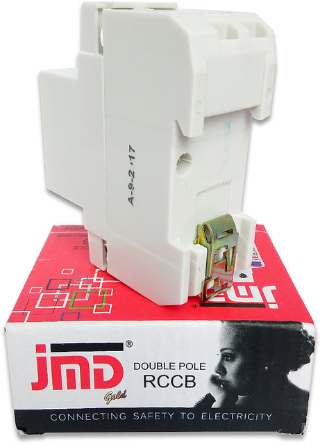 JMD GOLD RCCB Four Pole 63 AMP 240V Residual Current Circuit Breaker MCB  ISI Mark
