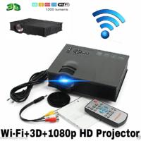 Unic UC46 Wireless WIFI 1080p Projector 1200 Lumen With