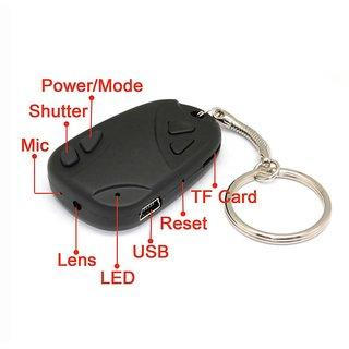 Spy Key Chain Hidden Conceal DVR Spy Camera Camcorder Recorder