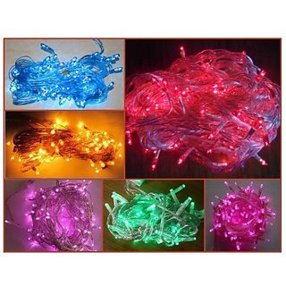 Takson Multicolor Electric Decorative Lights for All Occasions Set of 5