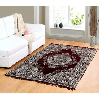 Valtellina Brown chenille carpet (85 inch X 55 inch) CNT-06