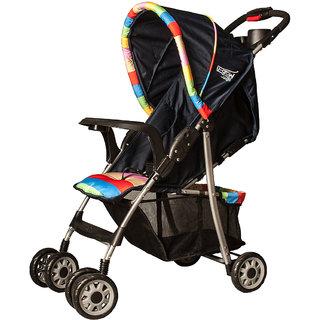 U-Grow Baby Folding Stroller/Pram (Blue)