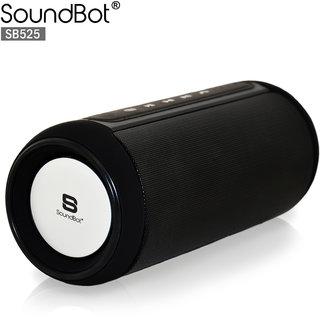 SOUNDBOT SB525 BLUETOOTH 4.0 SPEAKER 12 HRS MUSIC STREAMINGHANDS-FREE CALLING BUILT-IN MIC3.5MM