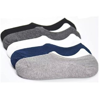 DLT Multi Casual No Show Socks Loafer Socks (Pack Of 5 )