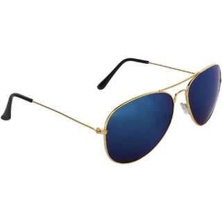 Zyaden Blue Aviator UV Protection Unisex Sunglass-SUNGLASSES-68